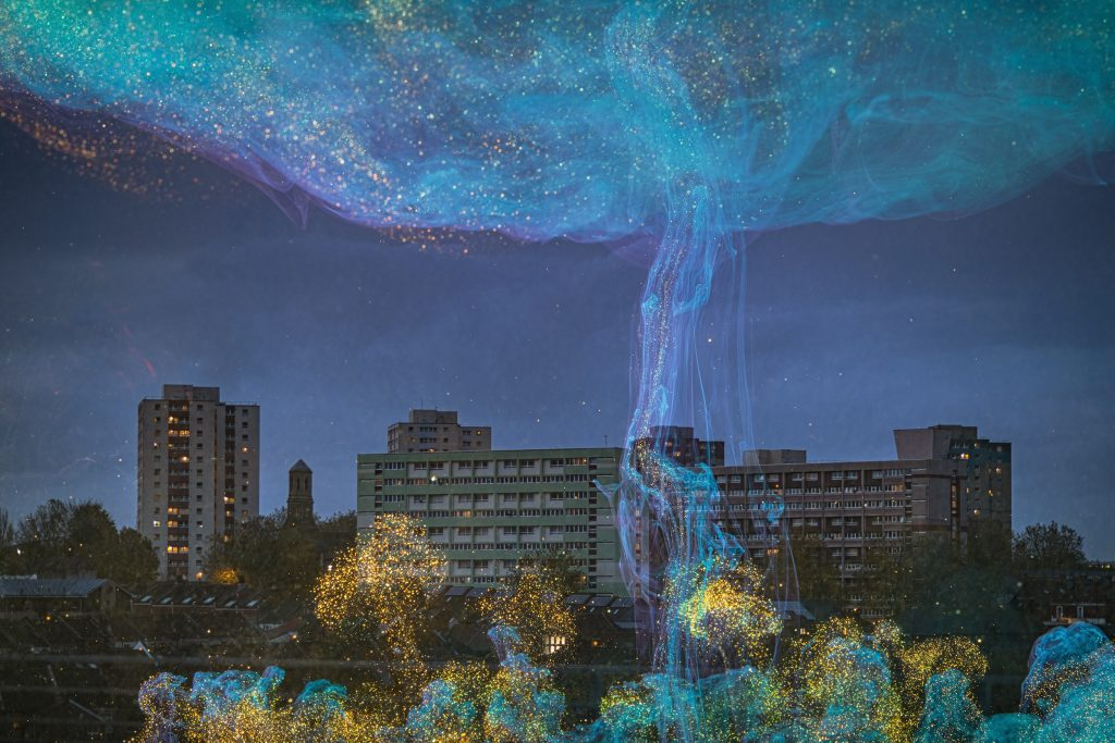 urban daydreams   Nightfall